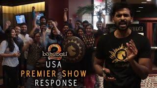 #Baahubali2 USA Premier Show Response