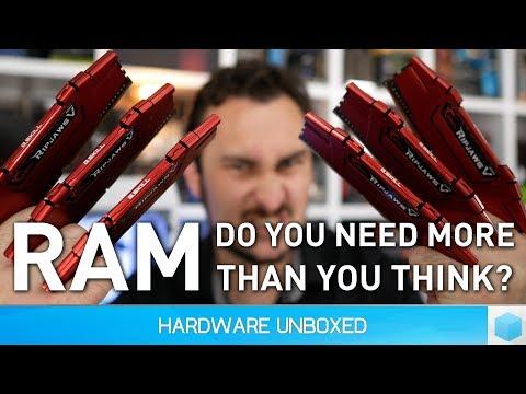 Xxx Mp4 How Much RAM Do Gamers Need 4GB Vs 8GB Vs 16GB Vs 32GB 2017 3gp Sex