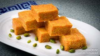 গাজরের সন্দেশ | Bangladeshi Gajor Sandesh Recipe
