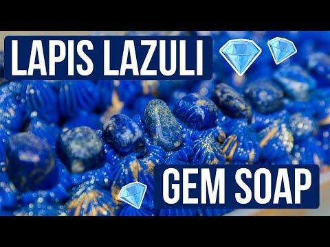 Lapis Lazuli Custom Gemstone Soap Royalty Soaps