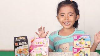Mainan anak lego - lego fashion life, lego hellokity and lego balck window avengers-kids toys