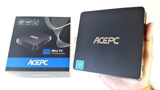 ACEPC T11 Review  AWESOME Mini PC 4K Box with HDD CADDY