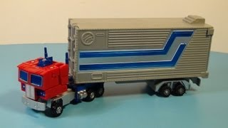 TRANSFORMERS K.O. ROBOT MASTERS OPTIMUS PRIME CONVOY ACTION FIGURE TOY REVIEW