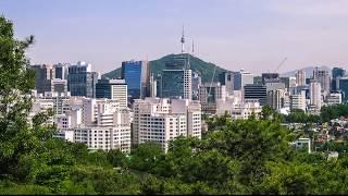 Seoul City South Korea 2017