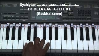 Sun Saathiya Piano Tutorial - ABCD2 - (Gamakas)