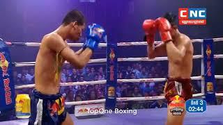 ទេស ជីវ៉ា ប៉ះ វាត់ឆារ៉ាដេត Tes Chiva (Cam) Vs Watcharadet (Thai), Khmer Boxing 2019