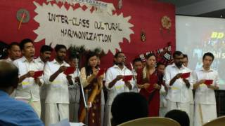 tamil song by serampore college BD II students 2016