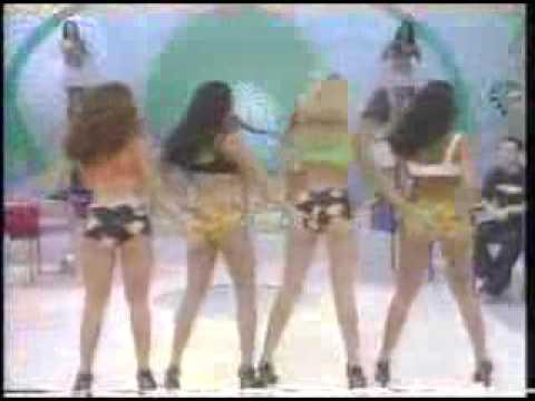 Eliana Gostosa Dançando no Banana Split Macarena