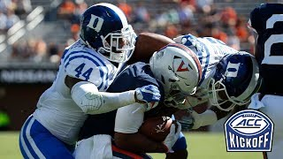 Duke Linebackers Lead Impressive Defense | 2018 ACC Kickoff