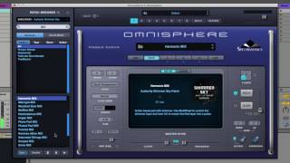 Audiority Shimmer Sky: Omnisphere 2 MIX Patches Walkthrough