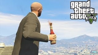GTA 5: Secret Molotov Cocktail / Fire Bottle Locations! How To Get Molotovs (Grand Theft Auto 5)
