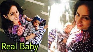 Deepika Singh aka Sandhya of Diya aur baati hum looks adorable with real life baby Soham |Latest ❤