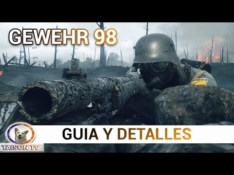Battlefield 1 Gewehr 98 de Infantería