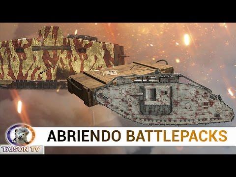 Battlefield 1 abriendo battlepacks Revisión 13