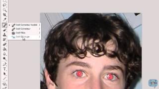 photoshop: les yeux rouges