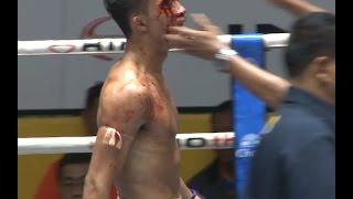 Muay Thai Fight - Satanmuanglek vs Sam-D, New Lumpini Stadium, Bangkok, 25th December 2015