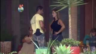 Denise Rocha e Oliver se enfrentam na Fazenda