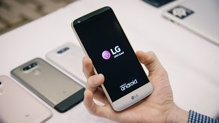 First look at the LG G5 modular smartphone