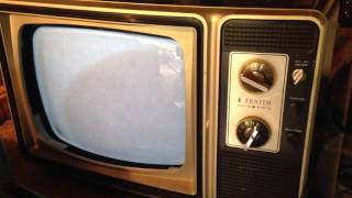 A Zenith and a Gold Star TV