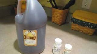 How to make simple mead (honey wine)