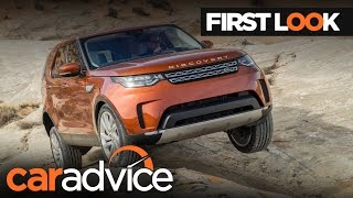 2017 Land Rover Discovery First Look review | CarAdvice