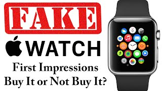 Fake Apple Watch - First Impressions - Is this a legit Smartwatch?
