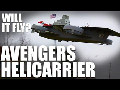 Will it Fly Avengers Helicarrier Flite Test
