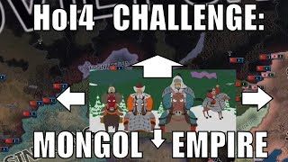 Hearts of Iron 4 Challenge: Restoring the Mongol Empire