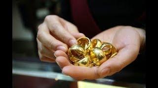 PHN | cận cảnh quy trình thủ công làm nhẫn tròn trơn 1chỉ vàng |