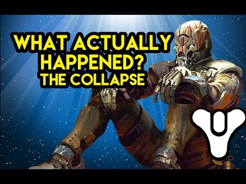 Destiny Lore The Collapse What actually happened Myelin Games