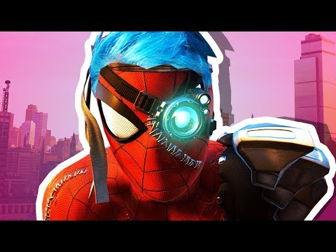 CYBER Spider Man Spiderman PS4 Silver Lining DLC ENDING