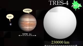 أغرب 10 كواكب تم اكتشافها حتي الان...لن تصدق انها موجودة بالفعل.!!
