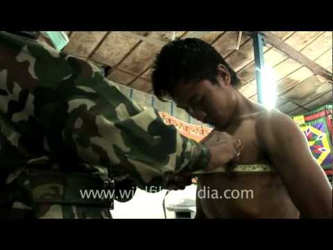 Chest measurement and BMI calculation for Indian Army aspirants, Aizawl