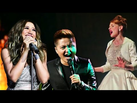 FILIPINO Singers Attempting NEVER ENOUGH Climax
