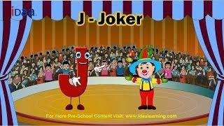 Learn English Alphabet - J (www.iDaaLearning.com)