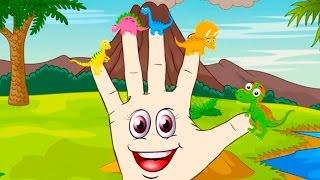Finger Family Dinosaur jurassic park Nursery Rhyme Songs