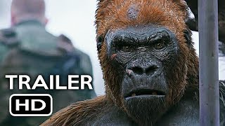 War for the Planet of the Apes Official Trailer #4 (2017) Action Movie HD