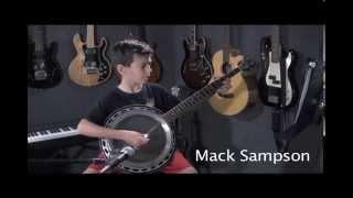 Mack Sampson plays Devil's Dream on his banjo