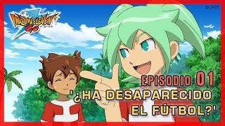 Inazuma Eleven Go Chrono Stones -Episodio 1 español «¿Ha desaparecido el fútbol?»