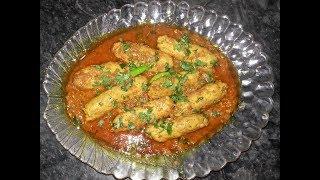 How To Make Chicken Seekh Kabab With Gravy | Chicken Kabab Gravy | - Cook With Nuzhat