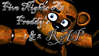 FIVE NIGHTS AT FREDDY´S (FNAF) 1 & 2 RAP | CarRaxX
