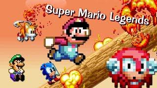 Super Mario Legends: Sprite animation