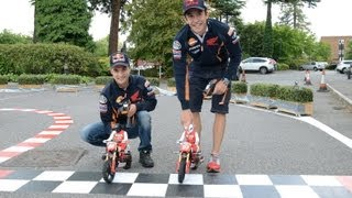 Repsol Honda MotoGP riders at Honda HQ