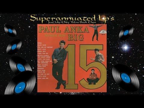 Xxx Mp4 PAUL ANKA Sings The Big 15 Side One 3gp Sex