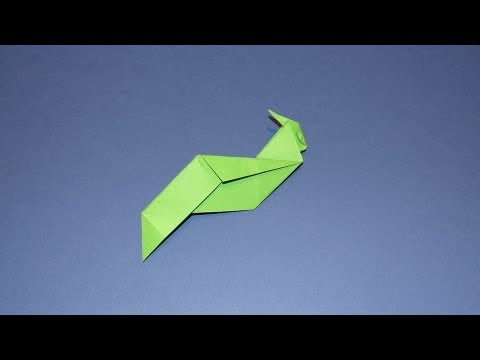 How To Make An Origami Partridge Bird