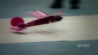 Mythbusters - Plane on conveyor belt the practice!