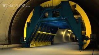 Tehran Niayesh Tunnel Technical_3D Animation_NATM Tunneling