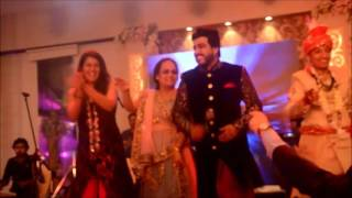 arsh mohammed dancing with the crziest dulha om shanti om and apni toh aise taise  and yamma