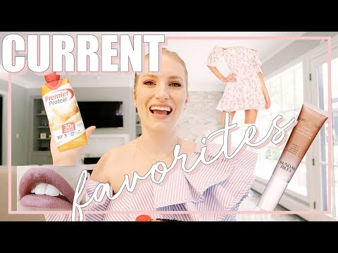CURRENT FAVORITES | BEAUTY, FASHION, LIFESTYLE