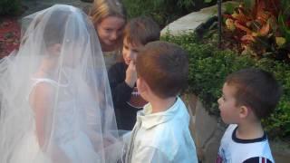 lil kids wedding (cute!)